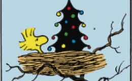 Woodstock's Christmas Tree